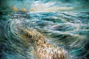 Splitting of the Red Sea. By Lidia Kozenitzky.