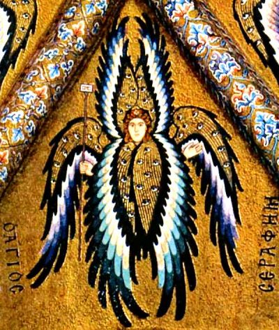 Seraph. By the Master of the Cathedral-Basilica of Cefalù.