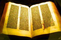 Gutenberg Bible.