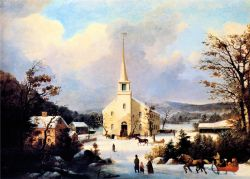 george_henry_durrie_-_going_to_church_t