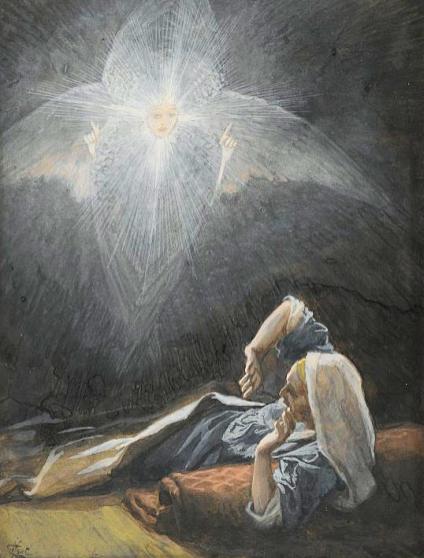 The Vision of Saint Joseph by James Tissot