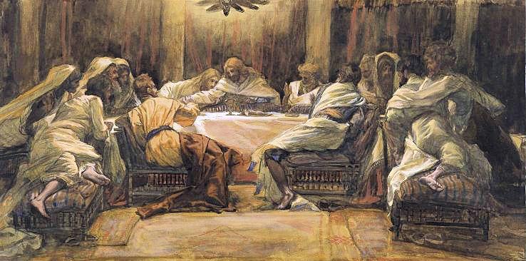 2019_La Céne. Judas met la main dans le plat (The Last Supper_Judas Dipping his Hand in the Dish)