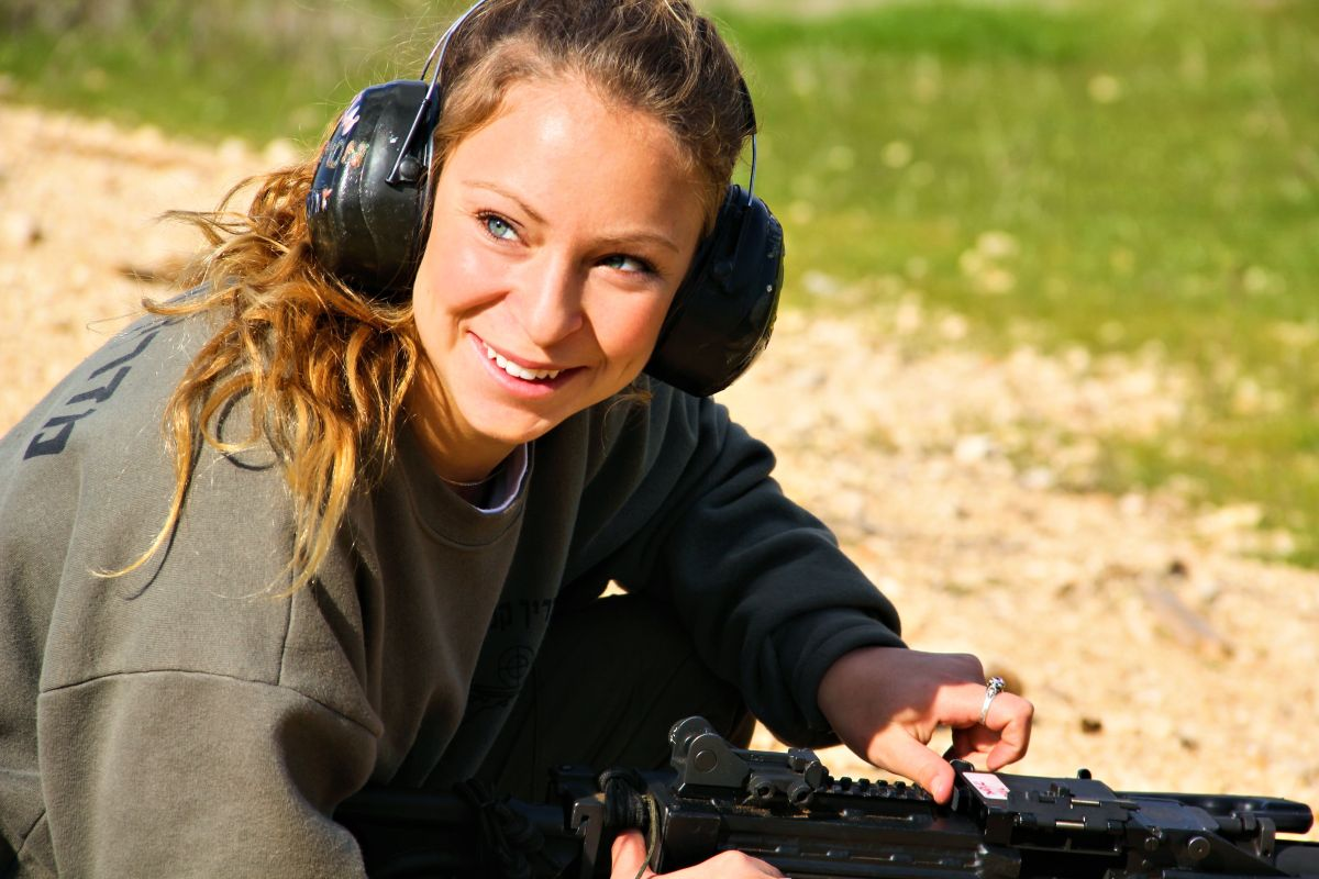 Israel Defense Forces Weapons Instructor.
