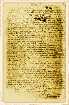 George Washington's Thanksgiving Day Proclamation, October 3, 1789.
