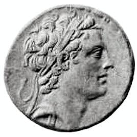 Antiochus IV ephanes coin