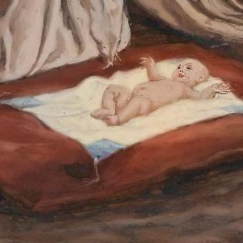 La Nativité de Notre Seigneur Jésus Christ_Tissot_sq