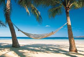 Hammock and beach