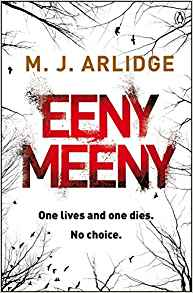 Eeny Meeny by MJ Arlidge English noir seaside nor, review by Charles Harris