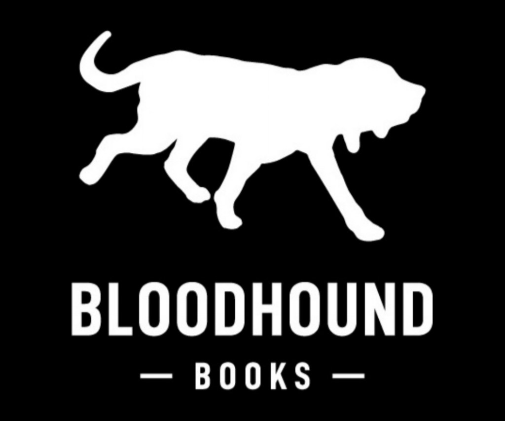 Bloodhound Books logo - book deal for my second novel