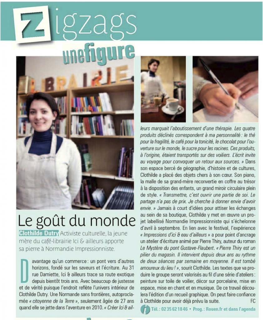 Clothilde Dutry présente «Ici & ailleurs»