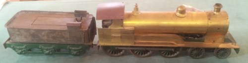Lot 201: Model 2.5 inch Gauge Live Steam Locomotive & Tender