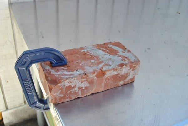 brick-clamped