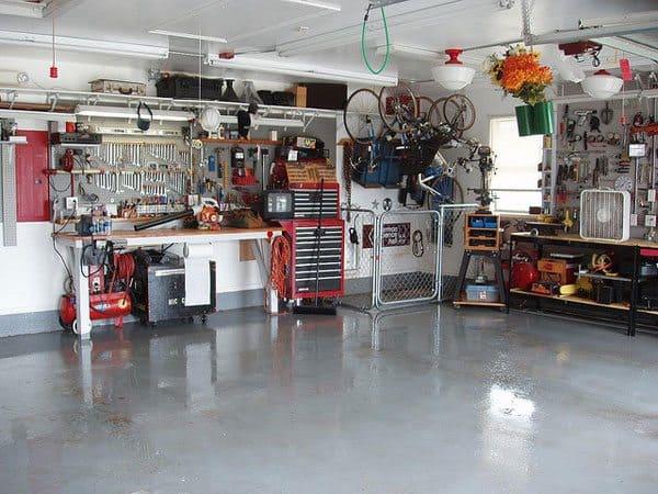 how to transform your garage into the ultimate home workshop rh charlesandhudson com home workshop plans home workshop buildings