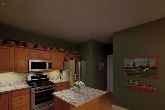 solatube-kitchen-before