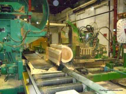 WoodMill_Sawing Process