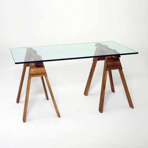 glass-sawhorse-table