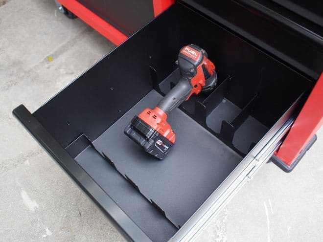 Power tool storage