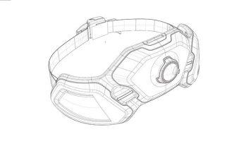 Design concept Husqvarna Ramus - sketch of hip belt battery
