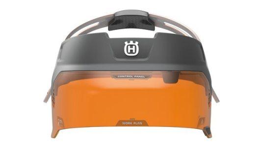 Design concept Husqvarna Ramus - visor from the front
