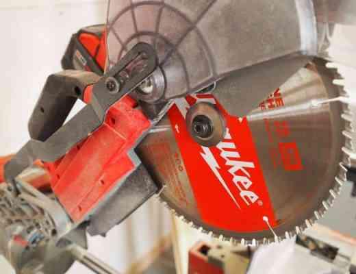 Milwaukee Tool cordless miter saw