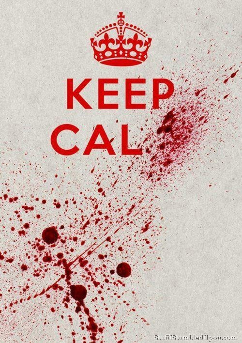 Keep-Calm-meme-Zombie-Blood-Spatter-splatter