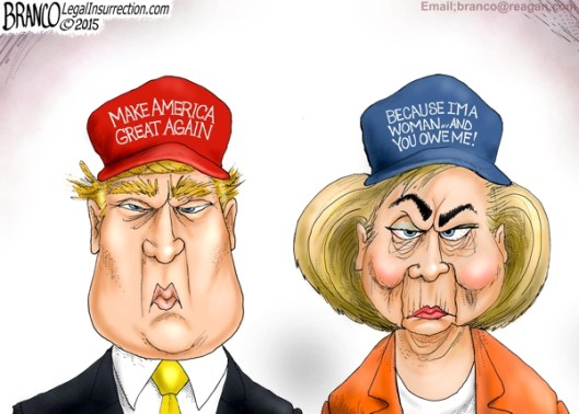 branco-trump-and-hillary_0