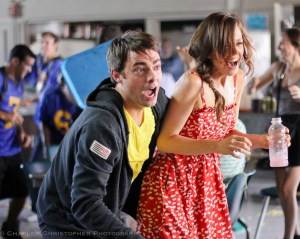 Jonathan Bennett & Rachel Boston