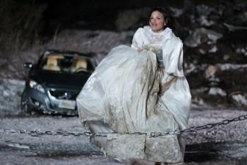 Katrina Law in Snow Bride