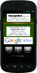 Google Sites For Mobile Phones