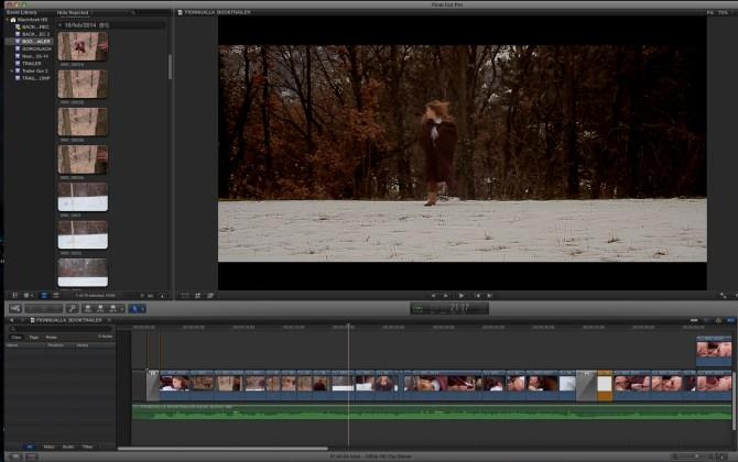 """Uno screenshot dal montaggio di """"Fionnualla   Booktrailer"""""""