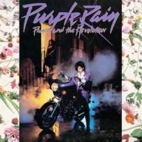 PRINCE-Purple Rain album cover 1984