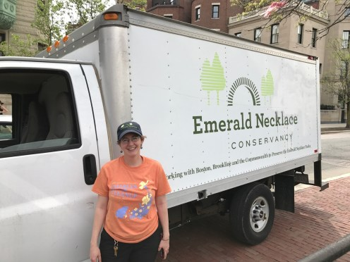 Ellen Arnstein from the Emerald Necklace Conservancy