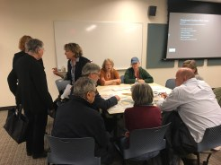 Workshops to discuss design ideas