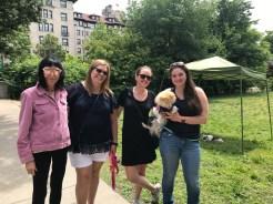 Visitors with Lisa Hazen and Rachel Bakish