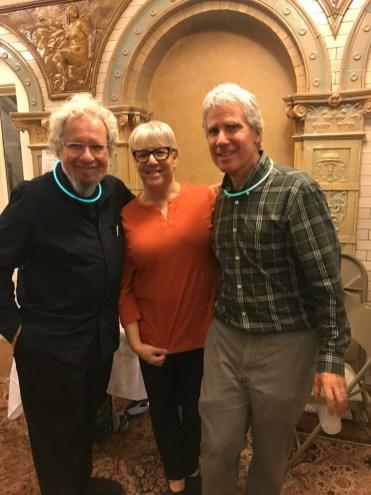Robert Oppenheim, Pam Beale and Randall Albright