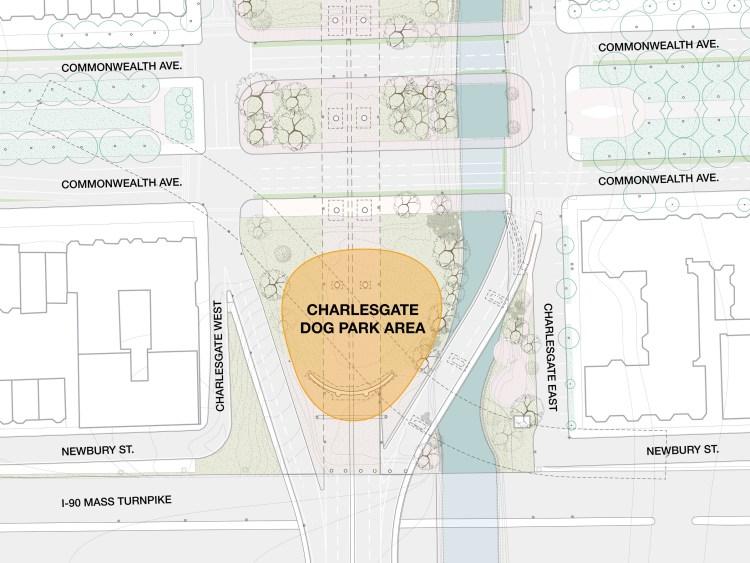 Dog Park location diagram