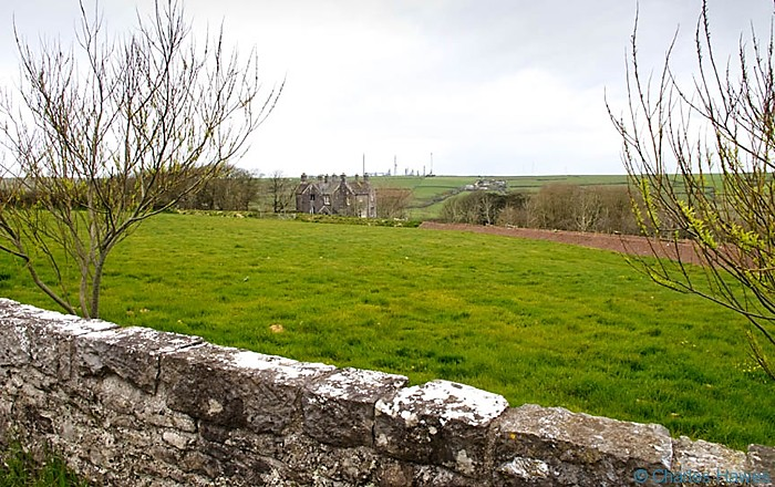 The Old Rectory, near castlemartin, on the Wales Coast Path in Pembrokeshire, photographed by Charles Hawes