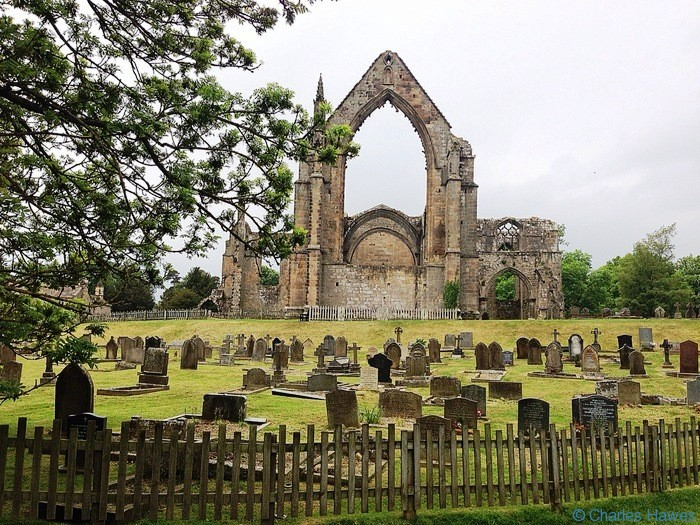 bolton priory and graveyard