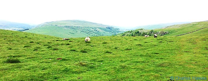 The Dales Way near Conistone Dib, North Yorkshire, photographed by Charles Hawes