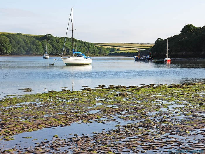 Sandy Haven Pill, Pembrokeshire, photographed by Charles Hawes