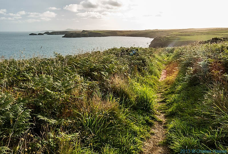The Pembrokeshire Coast Path photographed by Charles Hawes