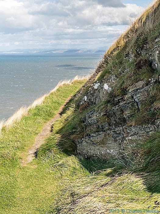 New Quay Head and The Wales Coast path in Ceredigion, photographed by Charles Hawes