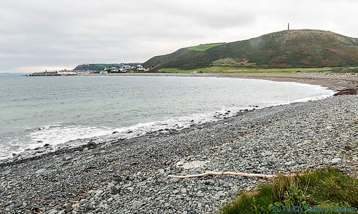 Tanybwlch beach,Aberystwyth, photographed from The Wales Coast Path by Charles Hawes