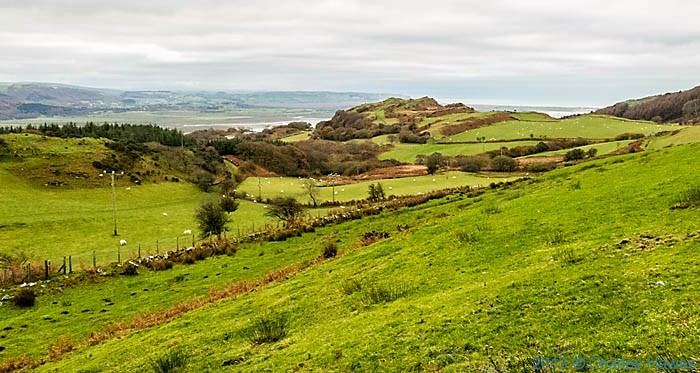 View over the Dyfi estuary photographed from the Wales Coast Path by Charles Hawes