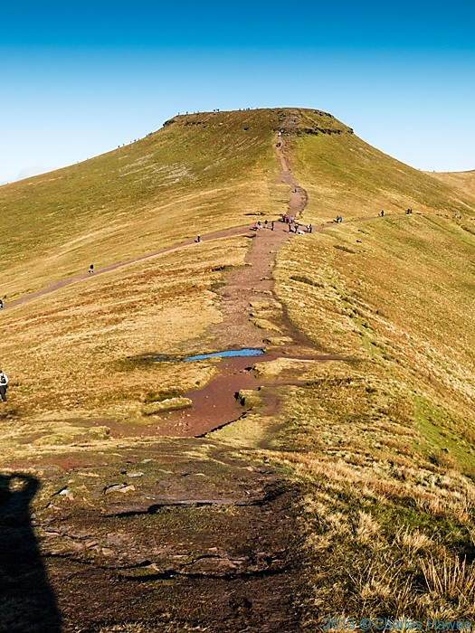 Corn Du, Brecon Beacons National Park, photographed by Charles Hawes