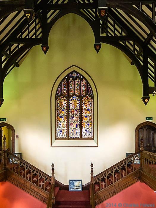|Inside Plas Glyn y weddw, photographed by Charles Hawes