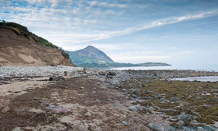 The beach near Gryn Goch on the Lleyn peninsula, photographed by Charles Hawes