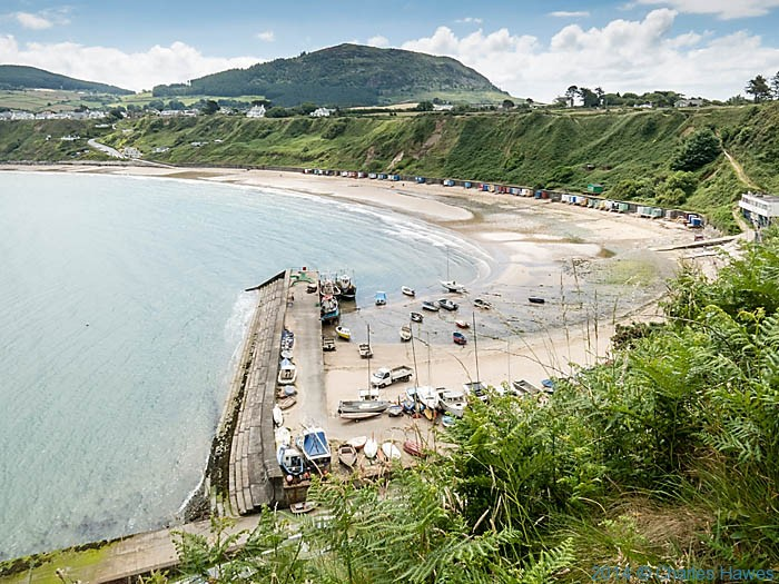 View to Porth Nefyn photographed from The Wales Coast Path by Charles Hawes