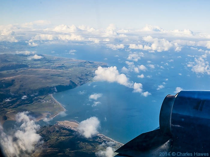 photographed from Citywing flight from Cardiff to Anglesey by Charles Hawes