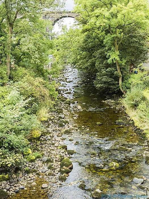 River Doe at Ingleton, photographed by Charles Hawes